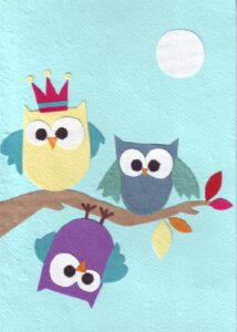 07-060 Hanging Owl With You